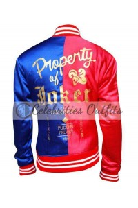 Suicide Squad Harley Quinn Royal Blue Jacket Costume