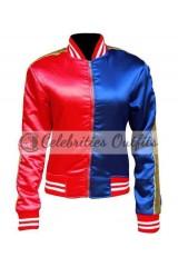 Suicide Squad Harley Quinn Royal Blue Jacket Costume