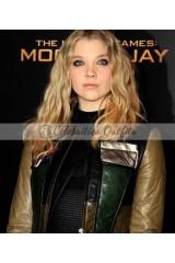Natalie Dormer Hunger Games Cressida Premiere Jacket