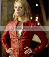 Imra Ardeen Smallville Saturn Girl Red Leather Jacket