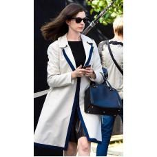Anne Hathaway The Intern Jules White Coat