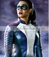 The Flash S4 Candice Patton Iris West Speedster Jacket