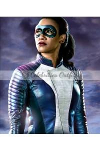 The Flash S4 Candice Patton Iris West Speedster Jacket
