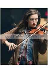 The Flash S4 Miranda MacDougall Izzy Bowin Trench Coat