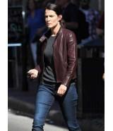 Cobie Smulders Jack Reacher Never Go Back Jacket