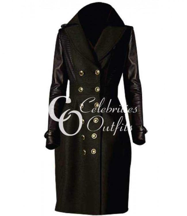 jennifer-lawrence-trench-leather-coat