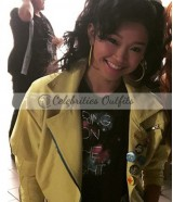 Jubilee Lana Condor X-Men Apocalypse Yellow Leather Jacket