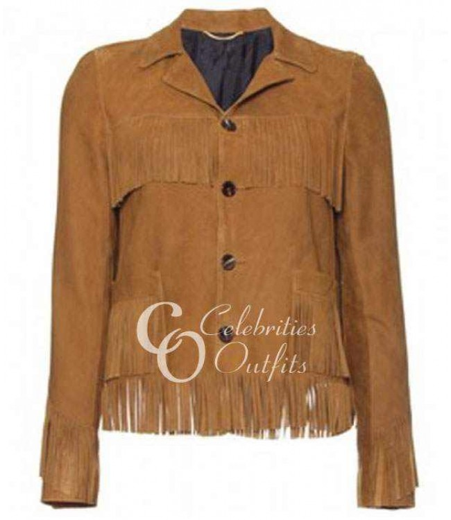 kate-moss-brown-fringe-jacket