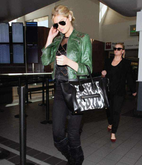 kate-upton-green-leather-jacket