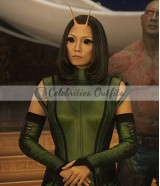 Guardians Of The Galaxy 2 Pom Mantis Leather Vest Jacket