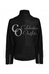 Megan Fox April O'Neil Ninja Turtle Black Leather Jacket