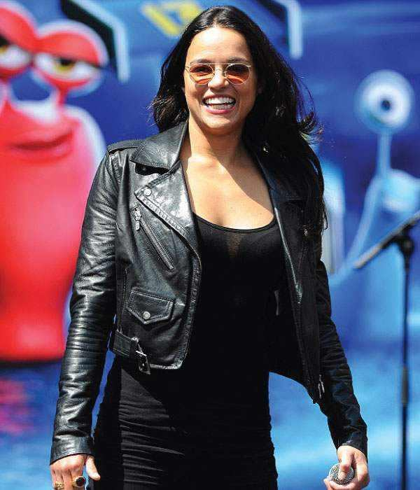 michelle-rodriguez-jacket-turbo-press-event