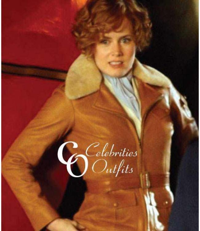 Amy Adams Night At The Museum 2 Amelia Earhart Fur Jacket