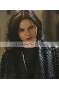 Lana Parrilla Once Upon a Time Evil Queen Leather Jacket