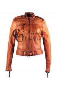 Emma Swan Once Upon A Time Season 4 Tan Jacket