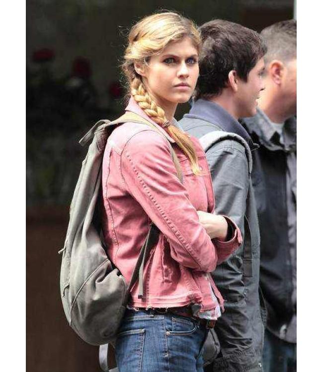 Alexandra Daddario Annabeth Jacket Percy Jackson Sea of ...