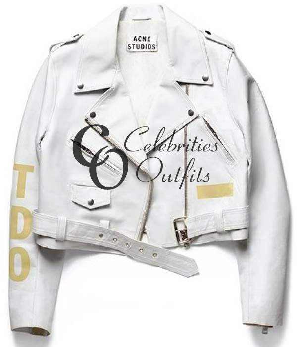 rihanna-white-biker-leather-jacket