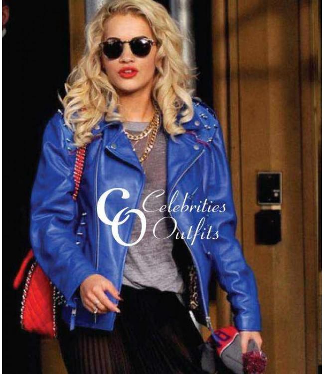 Pull&Bear Pull & Bear Star Studded Jacket | Best Leather ...