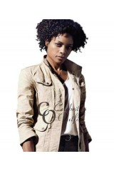 Naomie Harris Skyfall Eve Moneypenny Leather Jacket