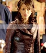 Kristin Kreuk Smallville Lana Lang Leather Jacket