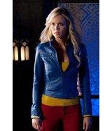 Supergirl Kara Smallville Laura Vandervoort Blue Jacket