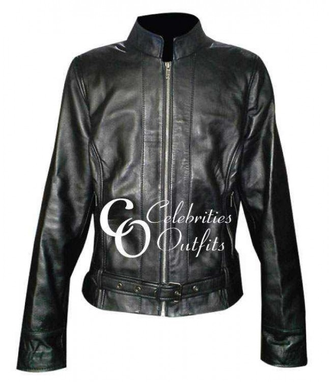 sons of anarchy katey sagal gemma teller black leather jacket. Black Bedroom Furniture Sets. Home Design Ideas