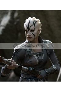Sofia Boutella Star Trek Beyond Jaylah Leather Vest