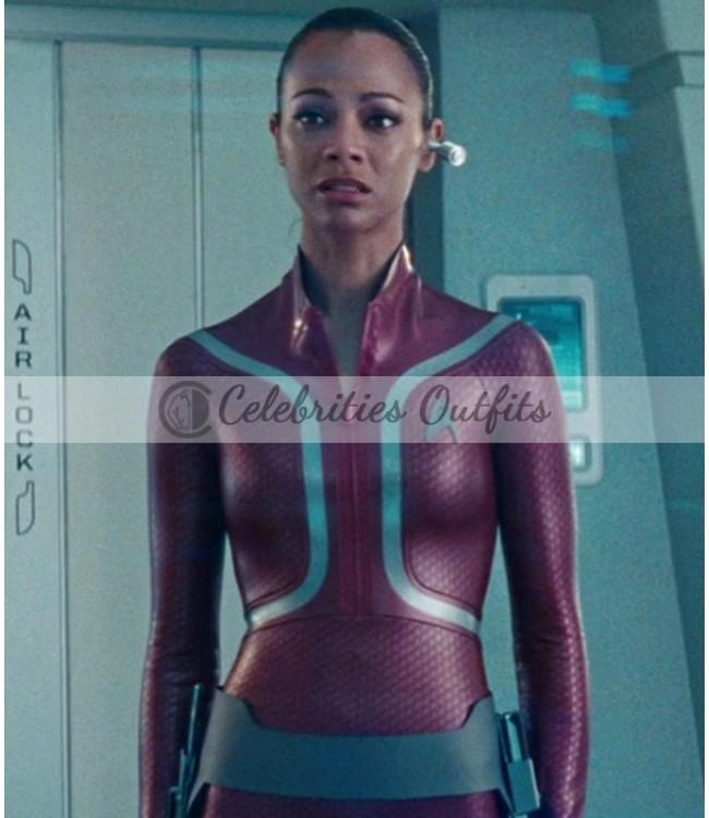 Star Trek Beyond Uhura Leather Jacket