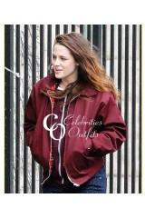 Kristen Stewart Still Alice Movie Red Cotton Jacket