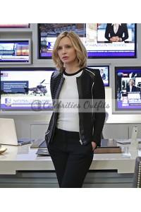 Cat Grant Supergirl S1 FlockHart's Leather Jacket