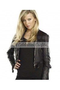 Ruby Supernatural Genevieve Cortese Black Leather Jacket