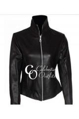 Moon Bloodgood Terminator 4 Salvation Black Leather Jacket