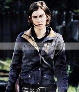 The Walking Dead S8 Lauren Cohan Maggie Greene Leather Jacket