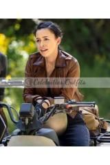Rosita Espinosa The Walking Dead S9 Leather Jacket