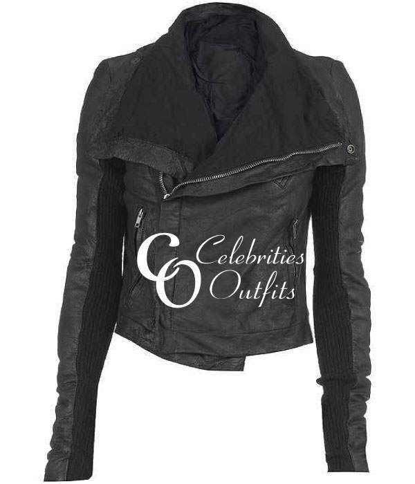 Poppy Montgomery Unforgettable TV Series Leather Jacket