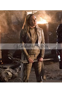 Legends of Tomorrow White Canary Leather Jacket