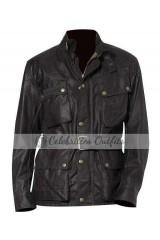 Kiefer Sutherland 24: Live Another Day Black Leather Jacket