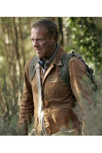Jack Bauer 24 Redemption Brown Leather Jacket