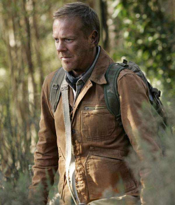 Jack Bauer 24 Redemption Brown Leather Jacket