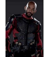 Suicide Squad Will Smith Deadshot Armor Jacket