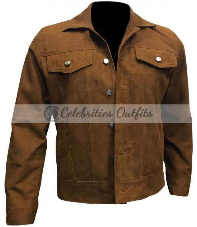 bc6661a8a Logan Hugh Jackman Wolverine 3 Brown Jacket