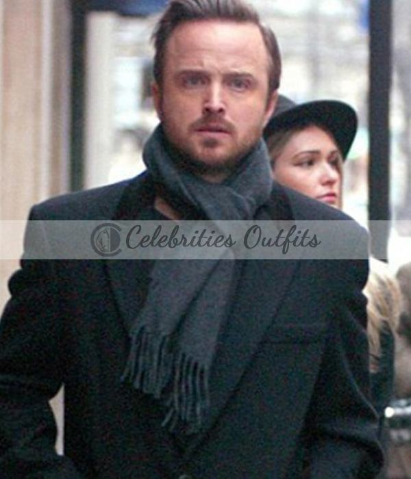 black-wool-aaron-paul-coat
