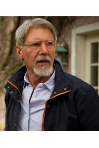 Harrison Ford The Age of Adaline Black Jacket