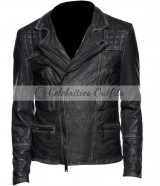 Lance Hunter Agents of SHIELD Season 2 Biker Jacket