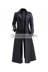 Resident Evil 5 Albert Wesker Black Costume Trench Coat
