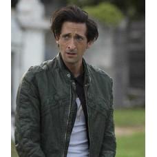 American Heist Adrien Brody Green Jacket