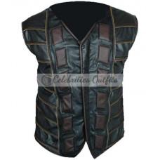 Anthony Lemke Dark Matter Leather Vest Jacket