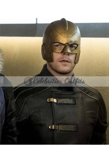 Arrow Crisis On Earth X Ray Terrill Leather Jacket