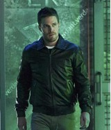 Oliver Queen Arrow S3 Stephen Amell Bomber Jacket