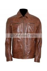 John Diggle Arrow S4 David Ramsey Brown Jacket